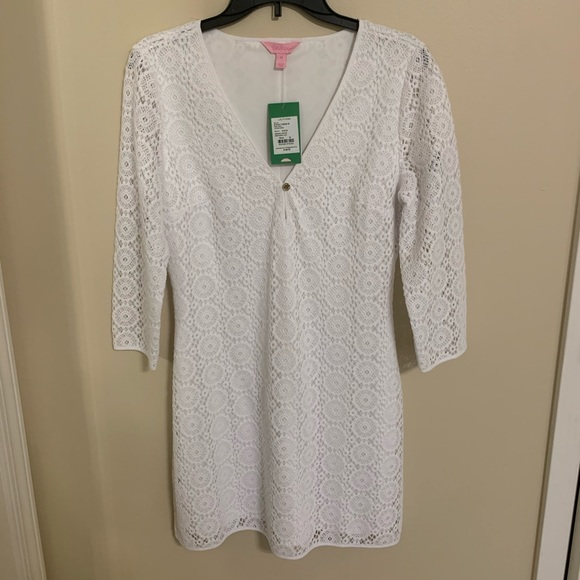 Lilly Pulitzer White Dress Size M